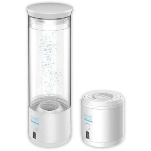 ビューティフルエンジェル KRDAM 充電式ポータブル 水素水生成ボトル 「belulu(美ルル)」 アクアマリン