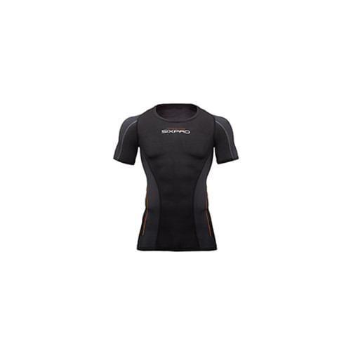 MTG SP-TS2313F-MM Training Suit Short Sleeve Top 男性Mサイズ SIXPAD  ブラック