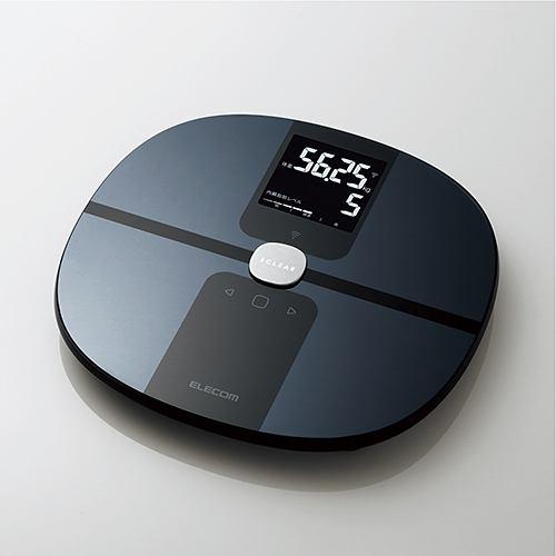 """エレコム HCS-WFS01BK Wi-Fi通信機能搭載""""エクリア 体組成計"""" ブラック"""
