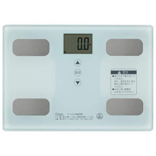 オーム電機 HB-KG11R1-W 体重体組成計 ホワイト