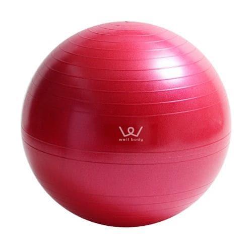 アルインコ WBN055P エクササイズボール 55cm ピンク