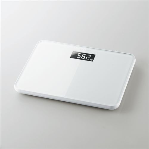 エレコム HCS-S01WH 体重計 エクリア ホワイト