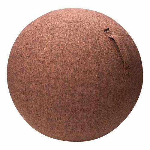 エレコム HCF-BBC55BR バランスボールファブリックカバー 55cm ブラウン