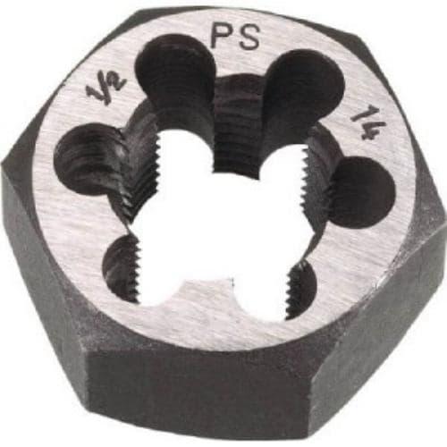 TRUSCO 六角サラエナットダイス PS5/8-14