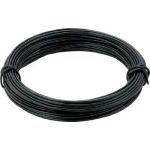 TRUSCO カラー針金 小巻タイプ・18番手 黒 線径1.2mm