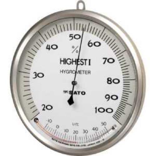 佐藤 温湿度計 ハイエスト1型