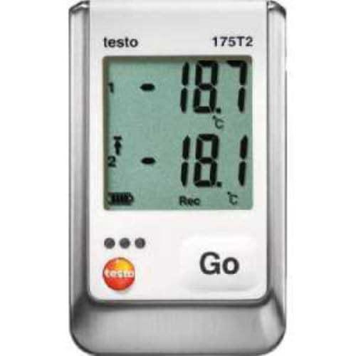 テストー 温度データロガ内蔵1チャンネル+外付1チャンネル
