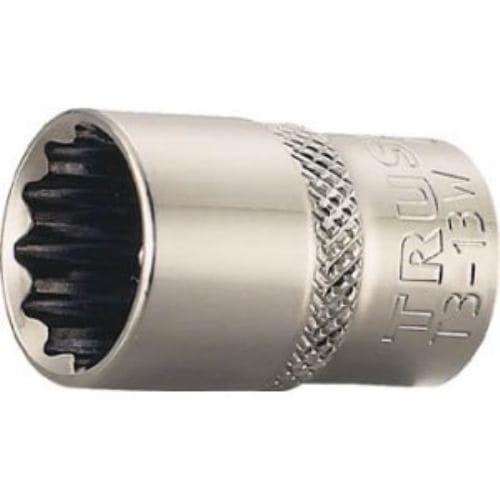 TRUSCO ソケット 12角タイプ 差込角9.5 対辺19mm