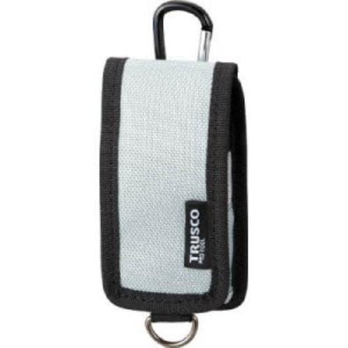 TRUSCO コンパクトツールケース 携帯電話用 シルバー