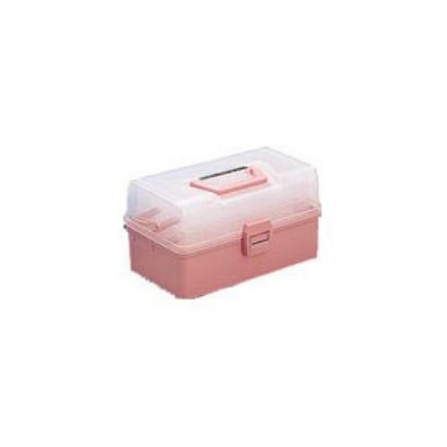 TRUSCO ホームケース 321X195X165 ピンク