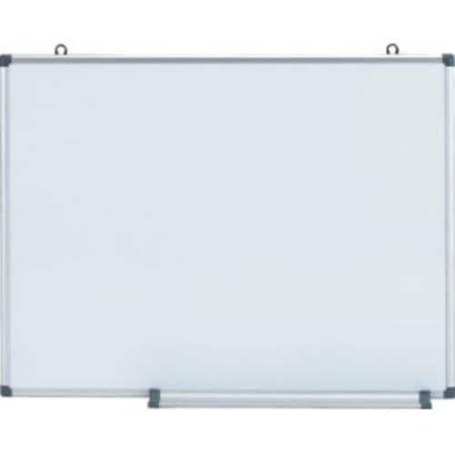 TRUSCO スチール製ホワイトボード 無地・縦横兼用タイプ 450X600