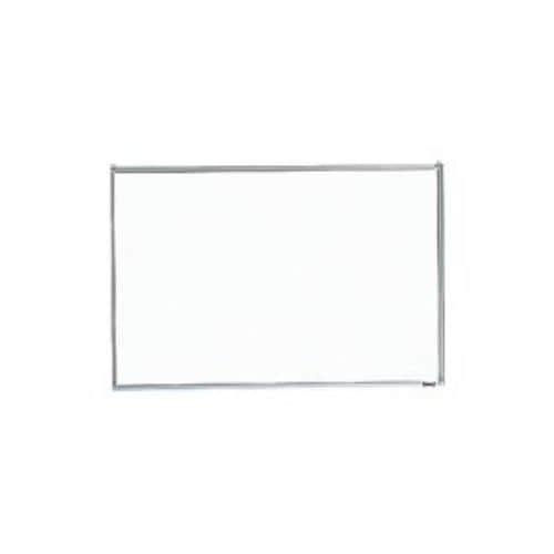 TRUSCO スチール製ホワイトボード 無地 粉受付 300X450