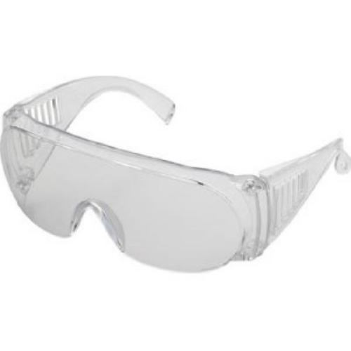 TRUSCO 一眼ラウンド型防塵メガネ透明