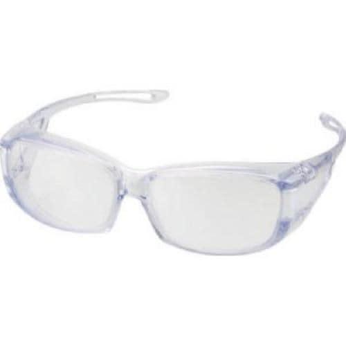 TRUSCO 二眼型セーフティグラス クリアフレーム