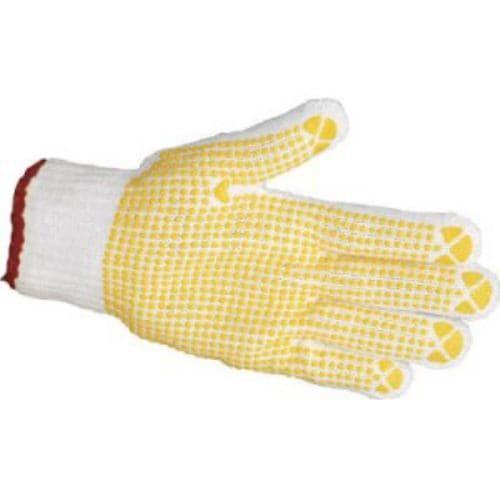 TRUSCO すべり止め手袋(片手)50枚入 Lサイズ 左
