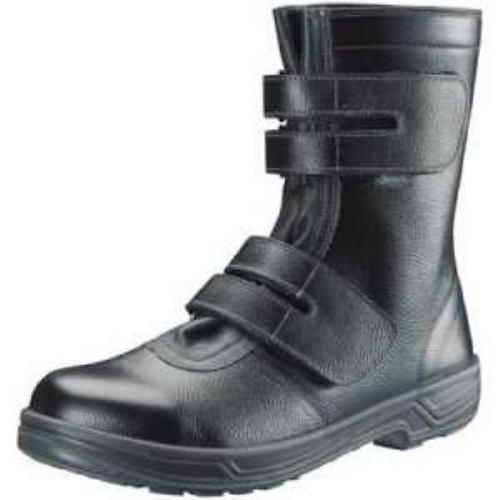 シモン 安全靴 長編上靴マジック式 SS38黒 28.0cm