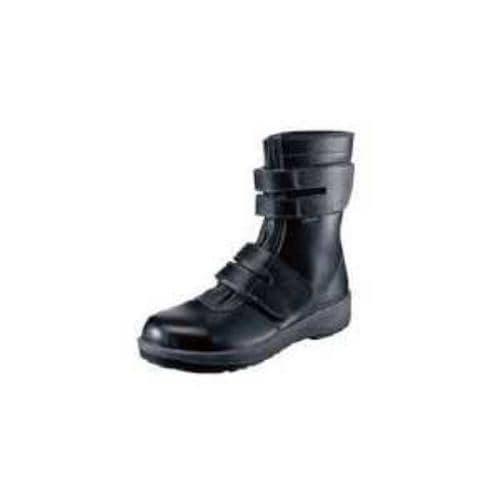 シモン 安全靴 長編上靴 7538黒 25.0cm
