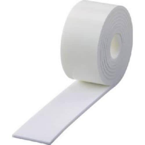 TRUSCO エッジクッションテープ 幅50mmX長さ2m ホワイト
