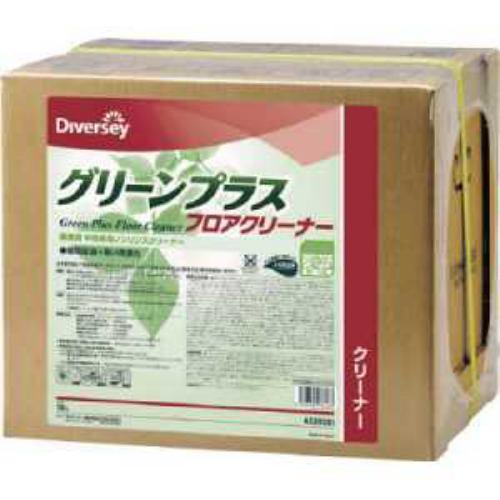 ディバーシー 洗浄剤 グリーンプラスフロアクリーナー 18L
