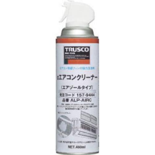 TRUSCO αエアコンクリーナー 480ml