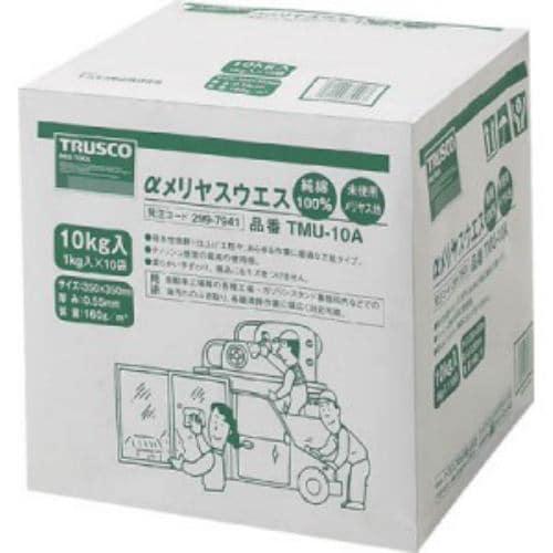 TRUSCO αメリヤスウエス 汎用タイプ 10kg