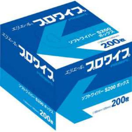 エリエール エリエールソフトワイパーS200BOX72個入り