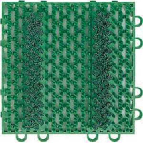 コンドル (屋外用マット)エバックブラシハードマットYL 本駒 緑