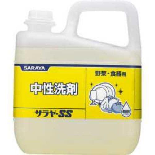 サラヤ 食器用中性洗剤 サラヤSS 5kg
