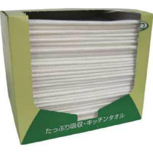 東京メディカル 業務用ふきん 超厚手タイプ 30x35cm グリーン 30枚入