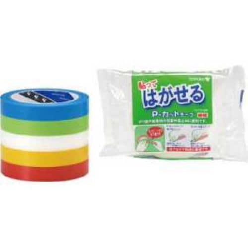 TERAOKA P-カットテープ NO.4142 赤 18mmX25M
