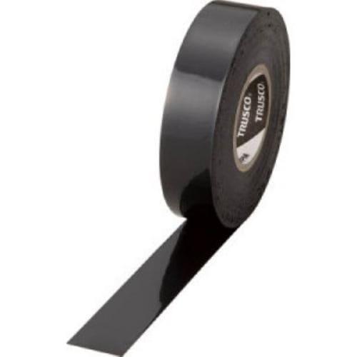 TRUSCO 耐熱・難燃・耐寒 プレミアム ビニールテープ ブラック