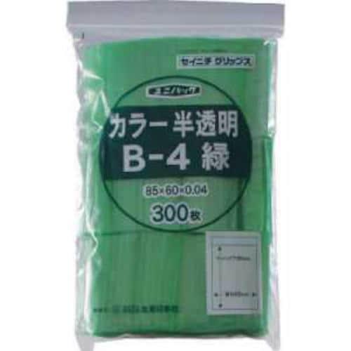 セイニチ 「ユニパック」 E-4 緑 140×100×0.04 200枚入