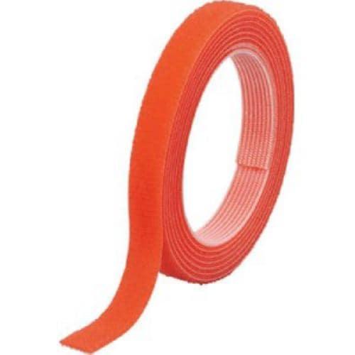 TRUSCO マジックバンド結束テープ 両面 幅10mmX長さ1.5m オレンジ