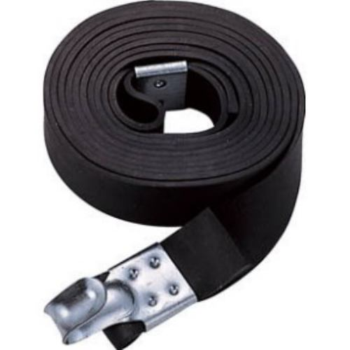 TRUSCO ゴムロープ金具付き幅20×折長2.5m 1本入