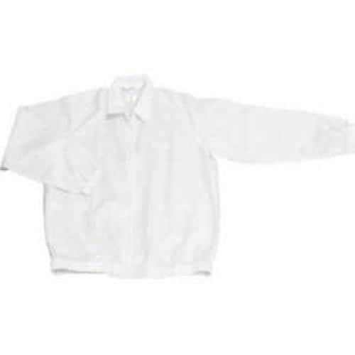 ブラストン ジャケット(衿付)-白-3L