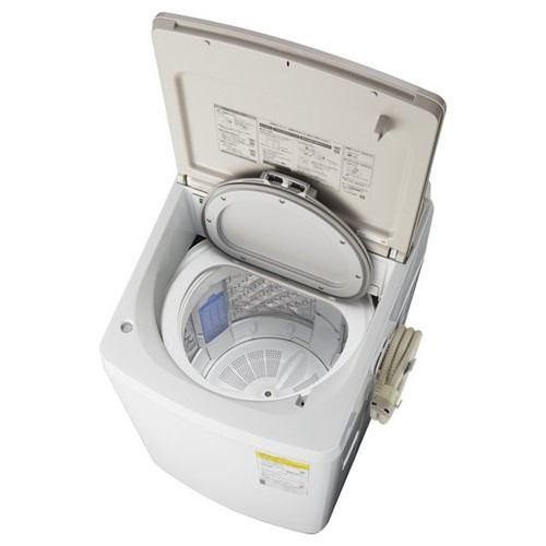 パナソニック NA-FW100K7-N 縦型洗濯乾燥機 洗濯10kg 乾燥5kg 泡洗浄 シャンパン