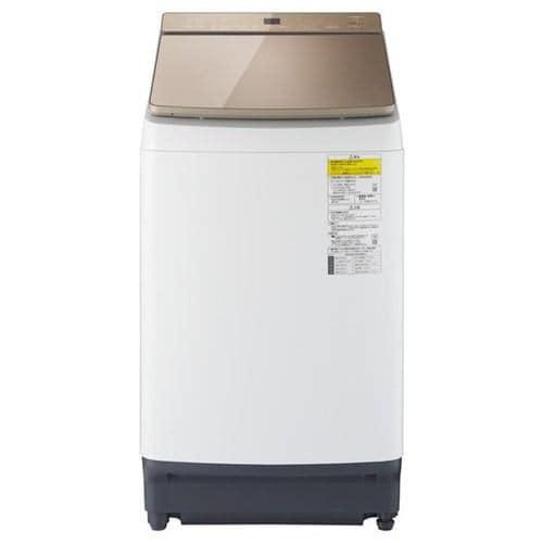 パナソニック NA-FW90K7-T 縦型洗濯乾燥機 洗濯9kg 乾燥4.5kg 泡洗浄 ブラウン