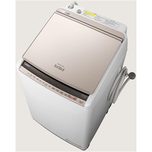 日立 BW-DV100E N 縦型洗濯乾燥機 (洗濯10.0kg /乾燥5.5kg) シャンパン