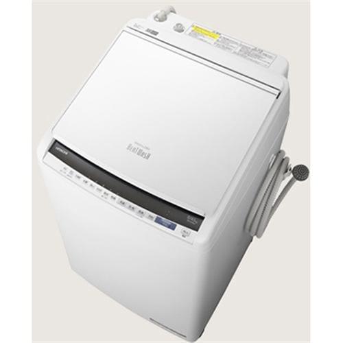 日立 BW-DV80E W 縦型洗濯乾燥機 (洗濯8.0kg /乾燥4.5kg) ホワイト