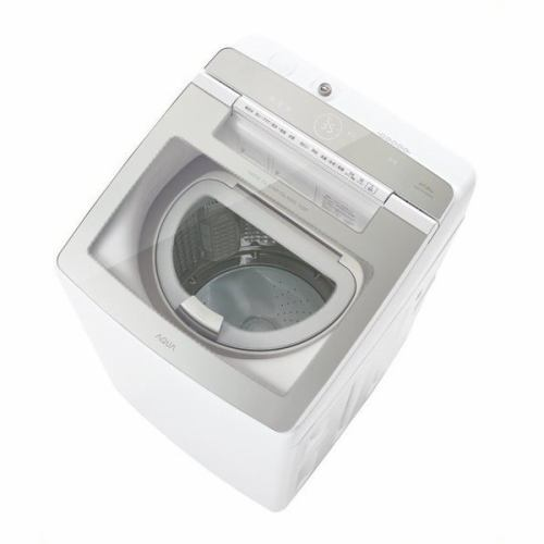 AQUA AQW-GTW100H(W) タテ型洗濯乾燥機 洗濯10kg/乾燥5kg ホワイト系