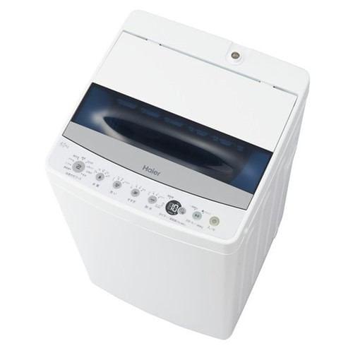 ハイアール JW-C45D W 全自動洗濯機 (洗濯4.5kg) ホワイト