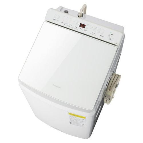 パナソニック NA-FW80K8-W 縦型洗濯乾燥機 (洗濯8kg・乾燥4.5kg) 泡洗浄 ホワイト