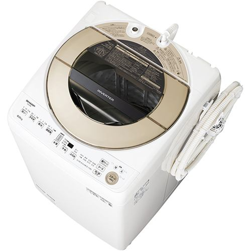 シャープ ES-GV9E-N 全自動洗濯機 (洗濯9kg) ゴールド系