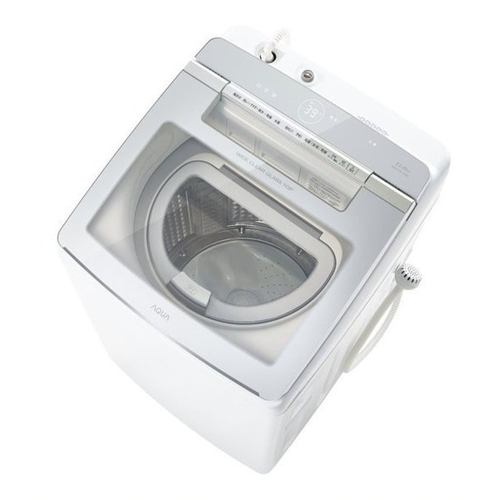 洗濯機 アクア 乾燥機付き 11LG AQW-GTW110J(W) タテ型洗濯乾燥機 (洗濯11kg・乾燥5.5kg) ホワイト系
