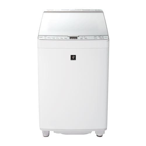 洗濯機 シャープ 乾燥機付き 8KG ES-PX8E 縦型洗濯乾燥機 (洗濯8.0kg/乾燥4.5kg) ステンレス穴なし槽 ホワイト系