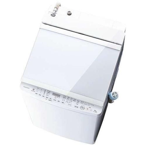 東芝 AW-10SV9(W) タテ型洗濯乾燥機 ZABOON(洗濯脱水10kg/乾燥5kg) グランホワイト