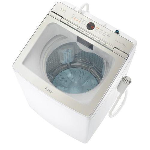 AQUA AQW-GVX140J(W) 簡易乾燥機能付き洗濯機 (洗濯・脱水14.0kg) ホワイト