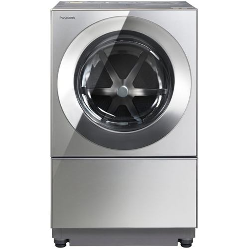 洗濯機 パナソニック ドラム式 10KG NA-VG2500L-X ななめドラム式洗濯機 Cuble (洗濯10kg・乾燥5kg) 左開き プレミアムステンレス