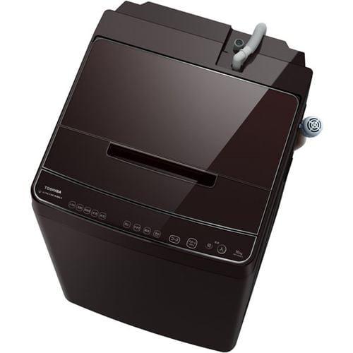 東芝 AW-10SD9(T) 全自動洗濯機 (洗濯・脱水10kg) ZABOON ウルトラファインバブル洗浄W グレインブラウン