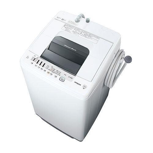日立 NW-70F W 全自動洗濯機 白い約束 (洗濯7kg) ピュアホワイト